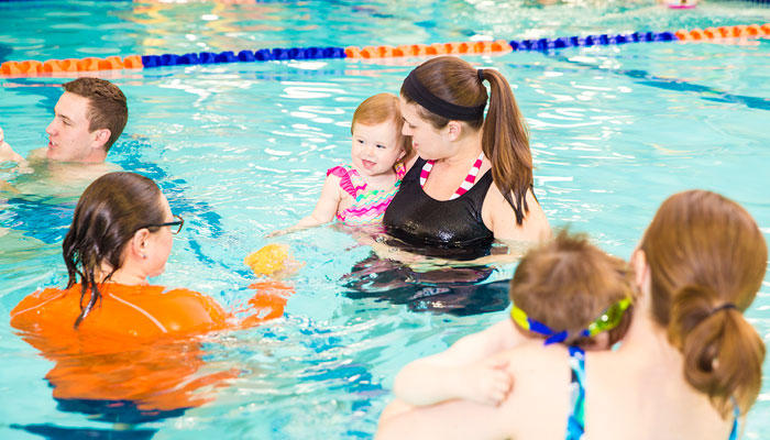 Goldfish Swim School mini baby class feature image