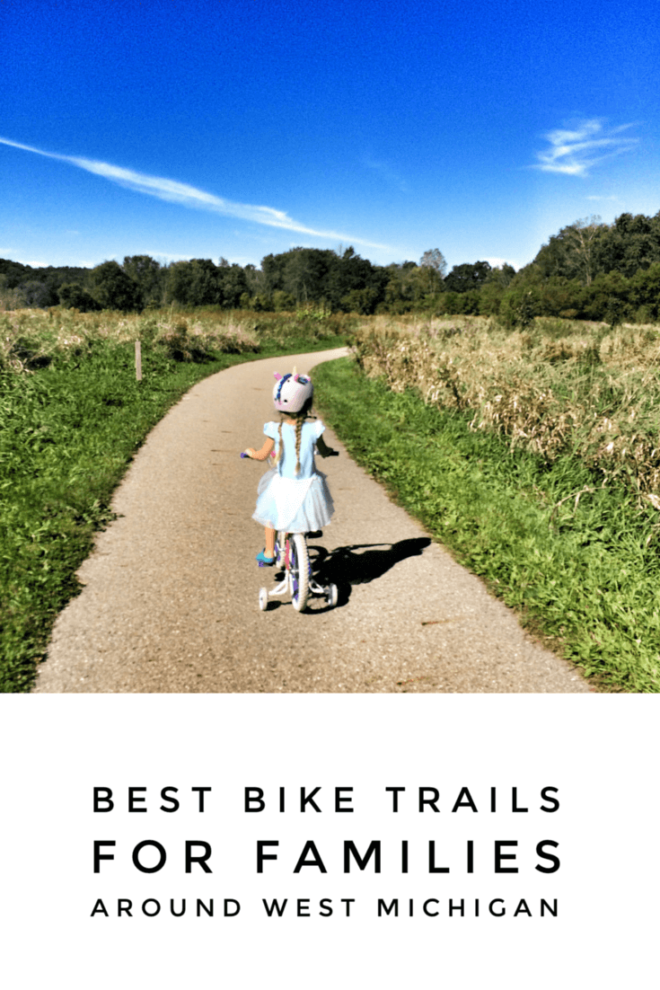 best bike trails for families west michigan pinterest
