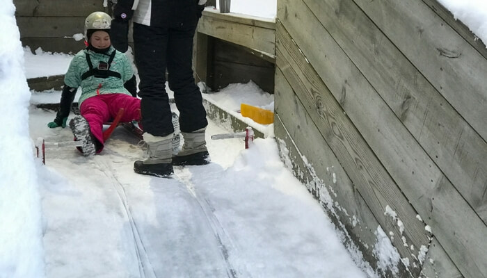 luge at muskegon winter sports complex