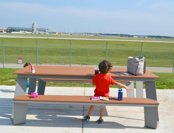 Airport Viewing Area kid Srebinski