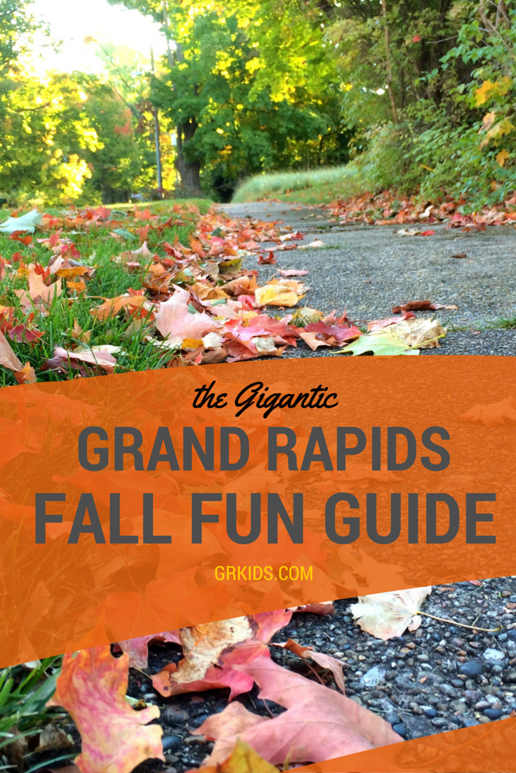 Fall events for kids and families in grand rapids