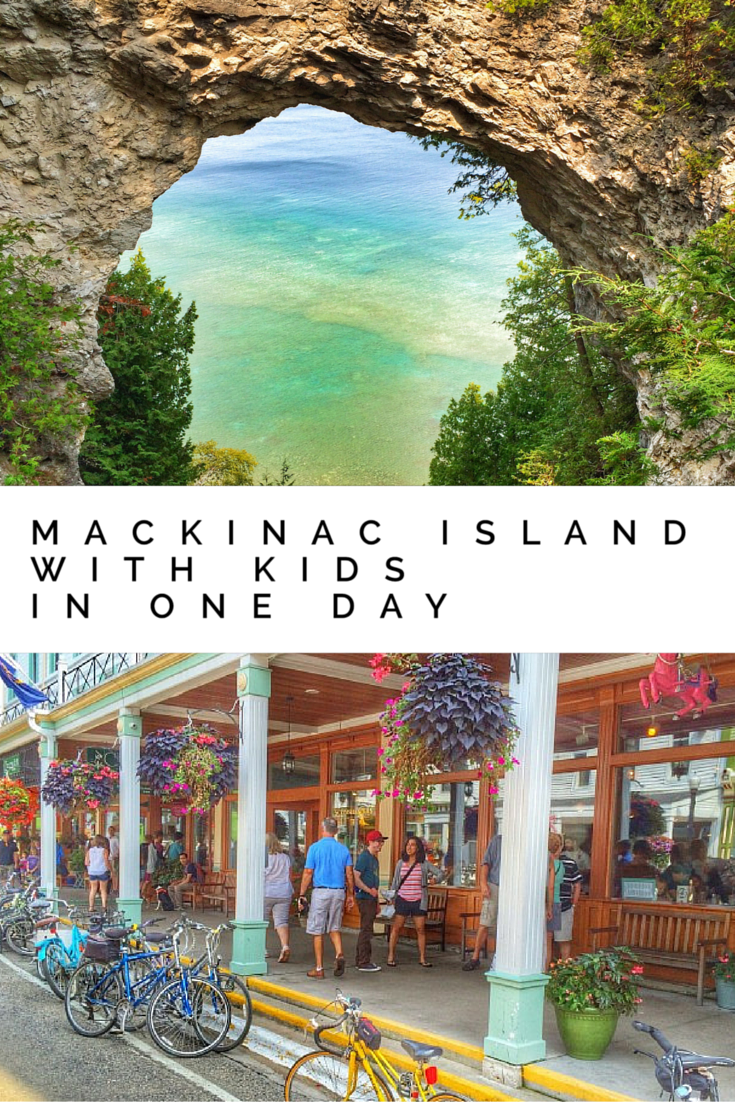 Mackinac Island with kids in one day