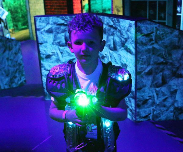 Rebounderz Laser Tag Hunt Light