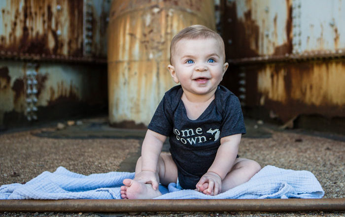 Michigan baby names Simply Stated clothes