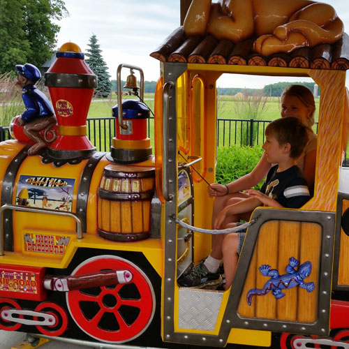 boulder ridge kiddie train