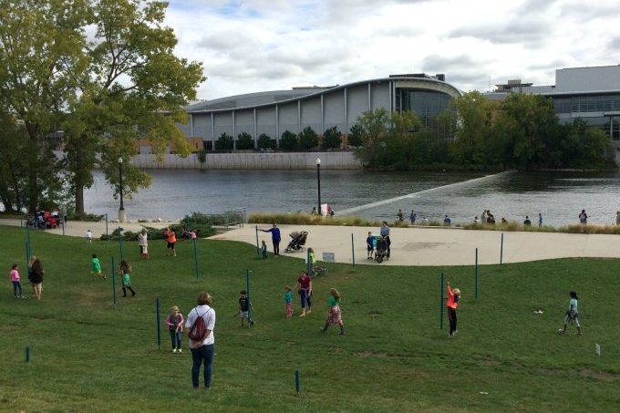 things to do in the city of grand rapids: ah-nab-awen park