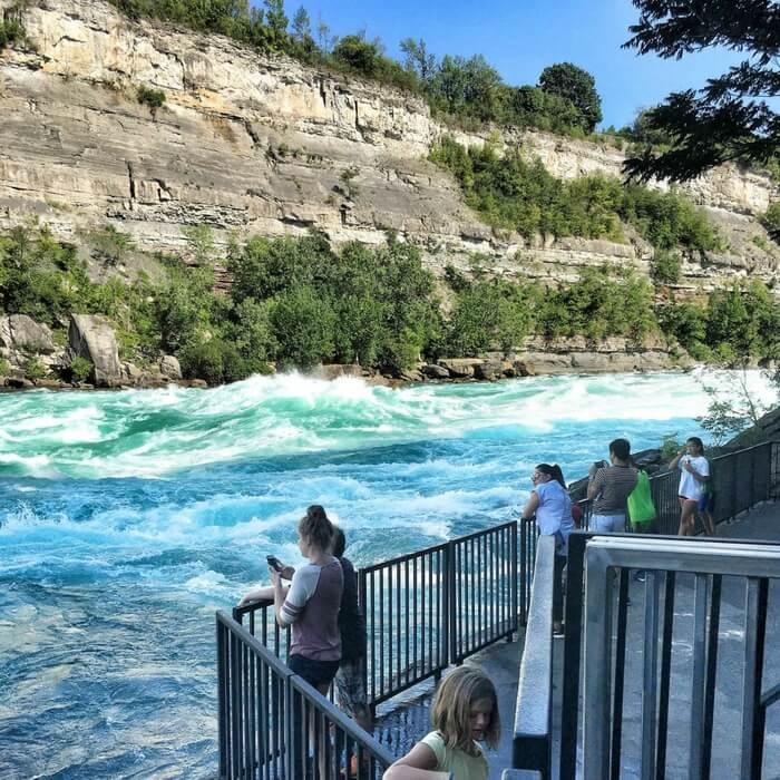 Niagara Whitewater walk Niagara Falls Hiking with Kids