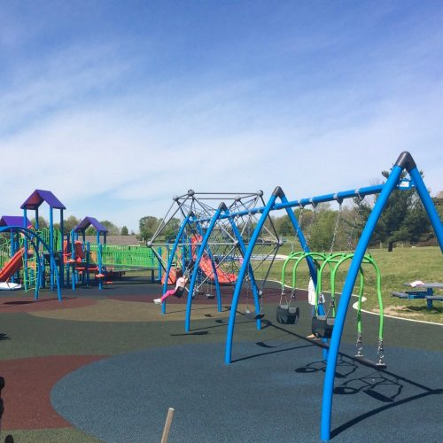 best playgrounds: Cascade Township Park Playground