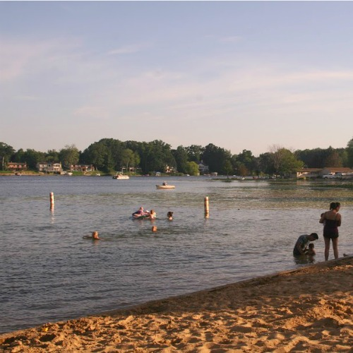 Myers Lake beach