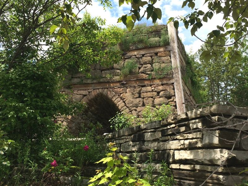 bay furnace ruins marquette michigan