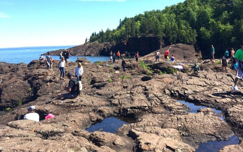 black rocks marquette upper peninsula michigan