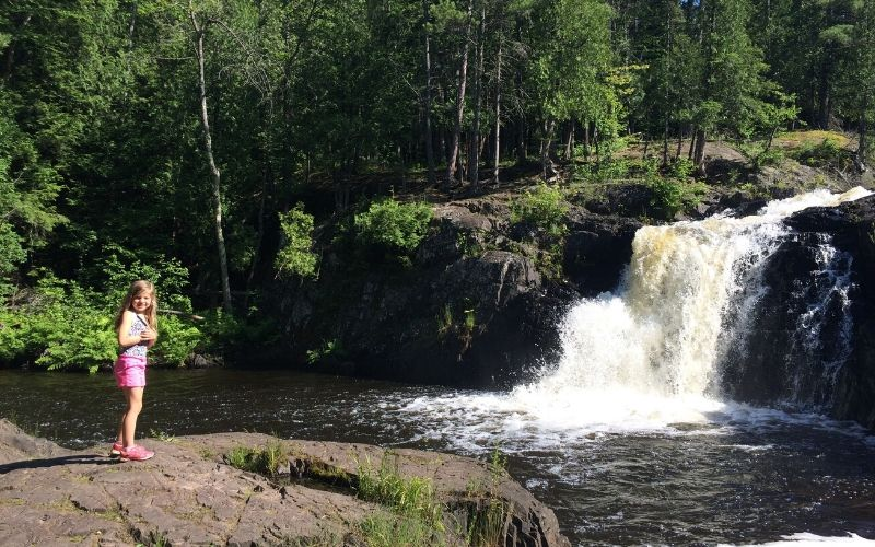 dead river falls marquette upper peninsula michigan