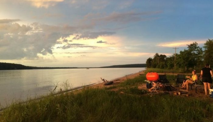 lake superior munising camping
