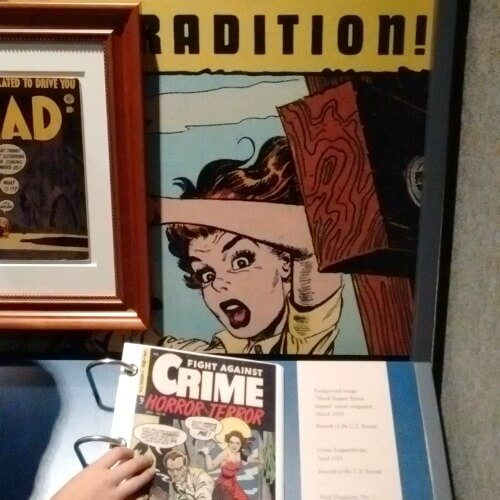 Gerald R Ford Museum comic books