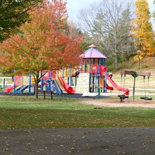 Fallasburg Park play structure