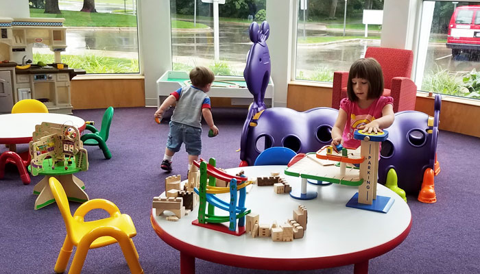 Wyoming KDL - indoor play area for kids