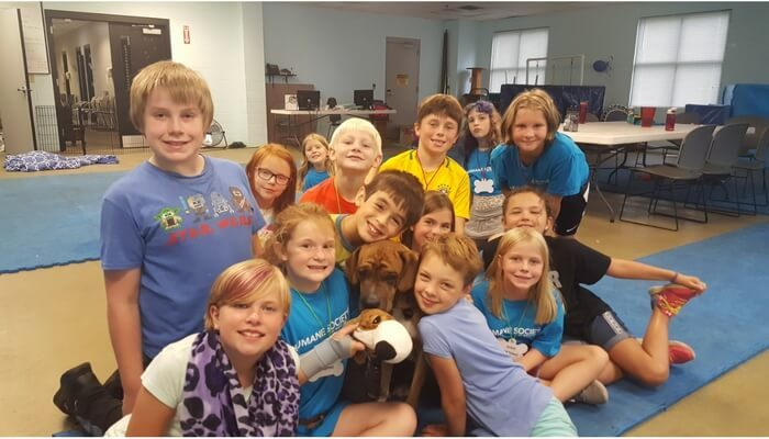 Humane Society of West Michigan Summer Camp