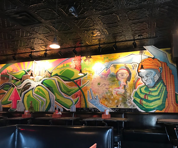Stellas Lounge Hunt mural