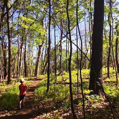 Brower Lake Hiking boy