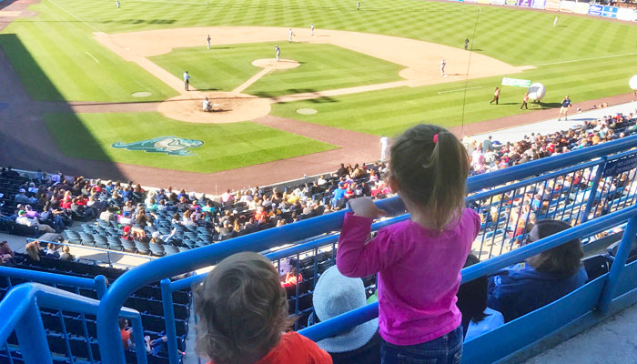 Whitecaps baseball with Kids Feature Image