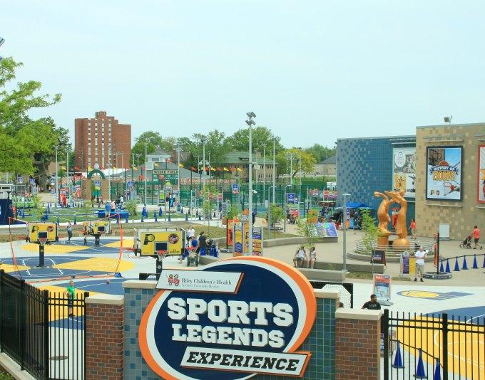 Indianapolis Childrens Museum Sports Legends