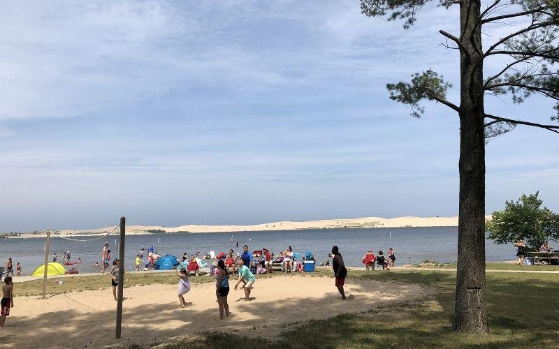 silver lake state park beach (1)