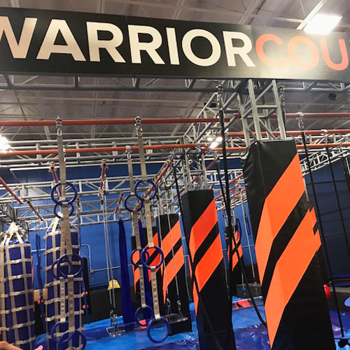SkyZone Renovation Warrior Course