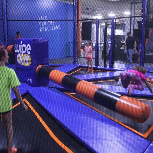 SkyZone wipe out 1