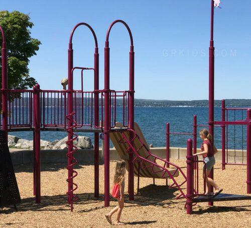 downtown petoskey playground beach park 1