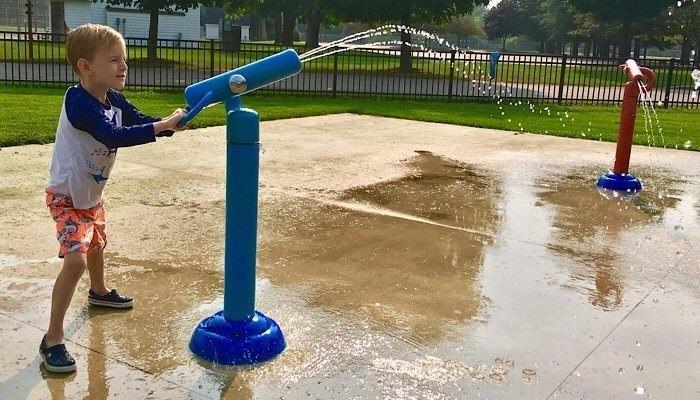 Allendale Park Feature