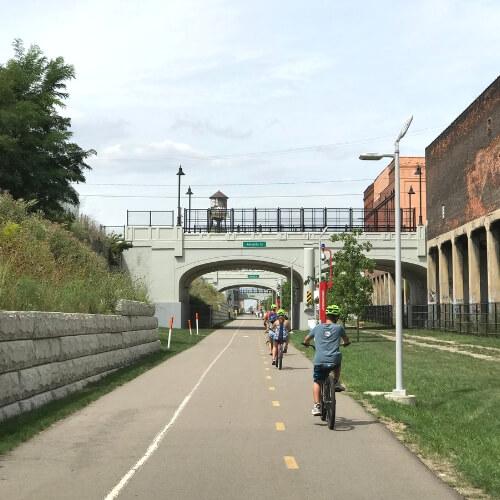 detroit biking dequinde cut rails to trails 1