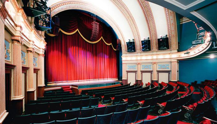 GRCT Magestic Civic Theatre auditorium
