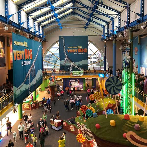 Indianapolis Childrens Museum interior