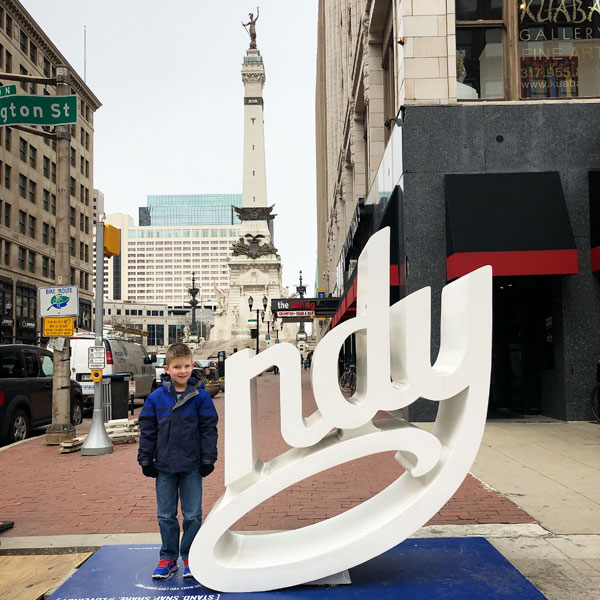 kid fun in indianapolis - indy sign