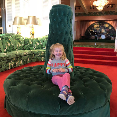 Mackinac Island Grand Hotel green chair