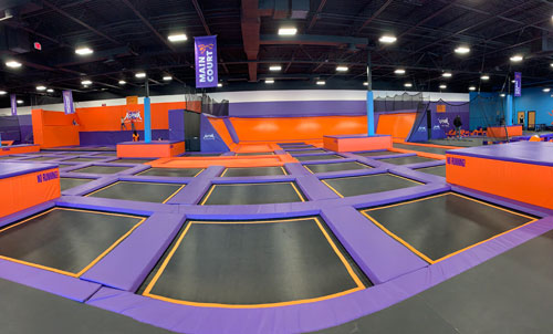 Altitude trampoline Main Court