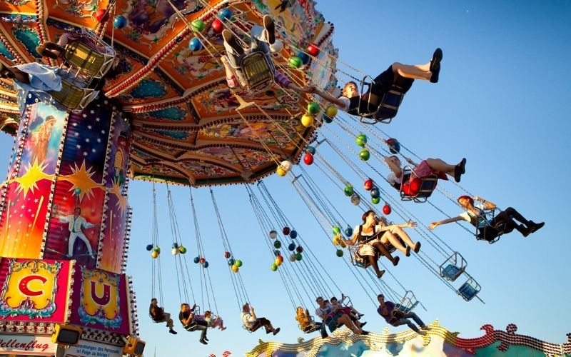 festivals in michigan - swings