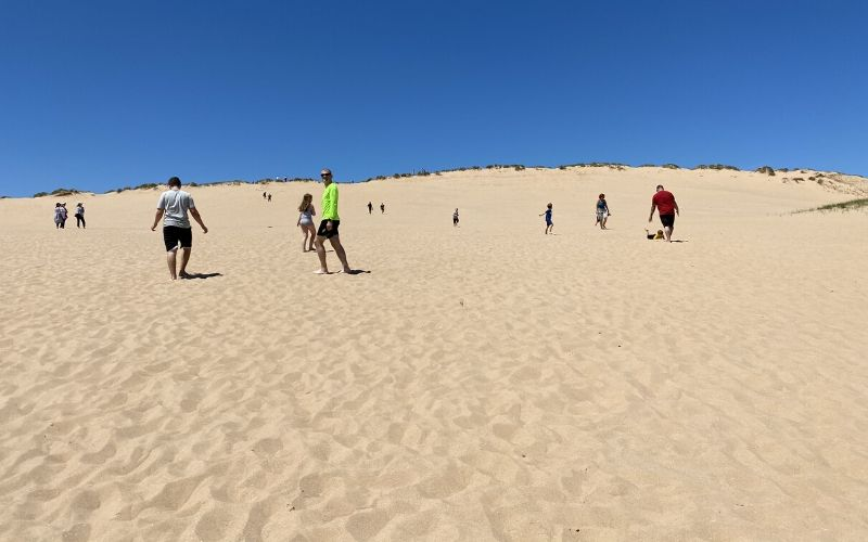 sleeping bear dunes national lakeshore dune climb