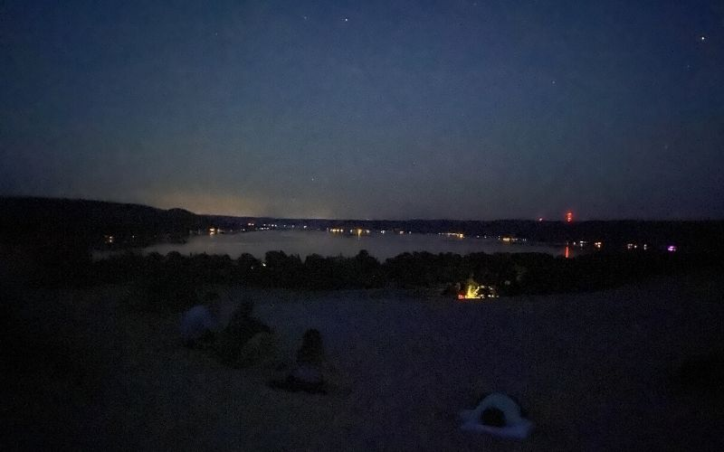 stargazing sleeping bear dunes