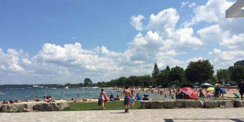 Clinch Park Traverse City - Michigan best beaches for kids