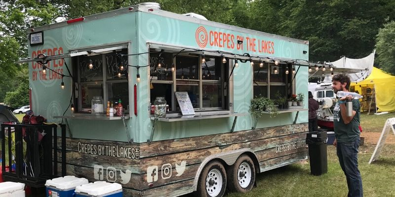 crepes by the lake food truck grand rapids