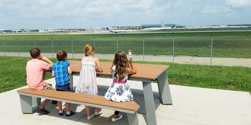 grand rapids summer activities - airport viewing park