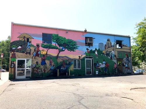 Murals Africian Community Center 1