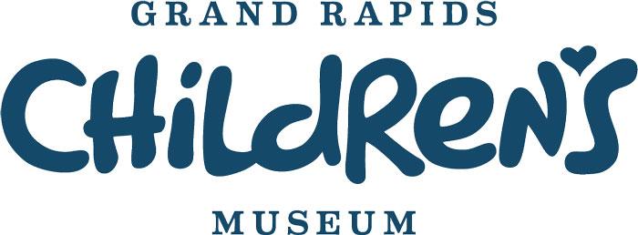 GRCM logo navy Childrens Museum