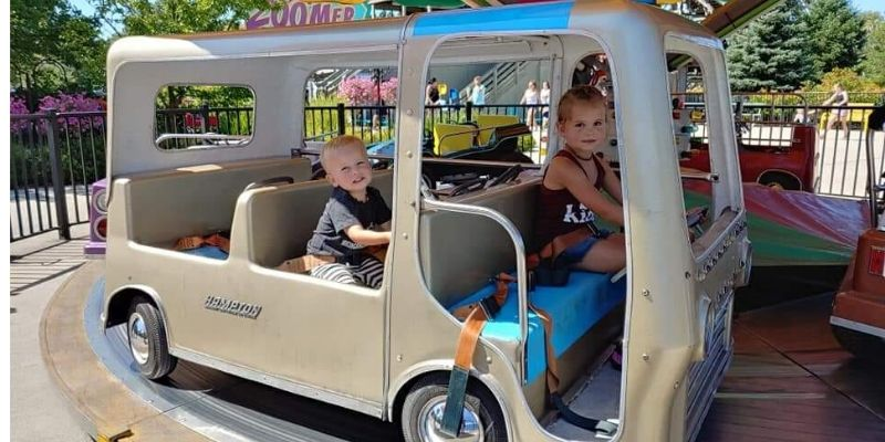 Michigan's Adventure Kiddie Rides
