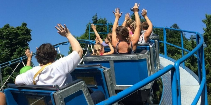 Michigan's Adventure roller coaster