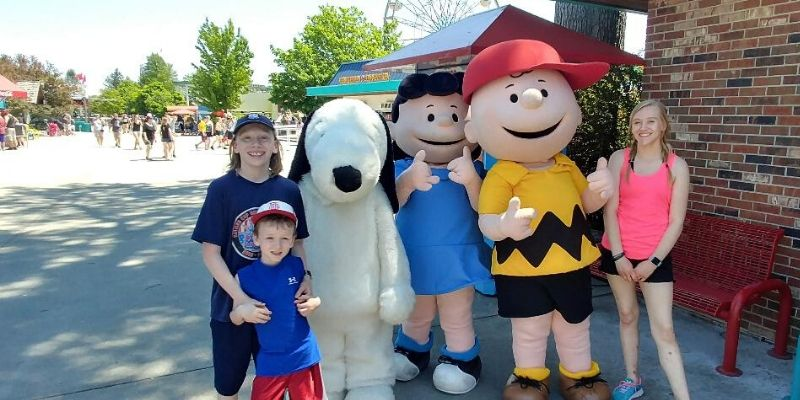 Michigan's Adventure snoopy