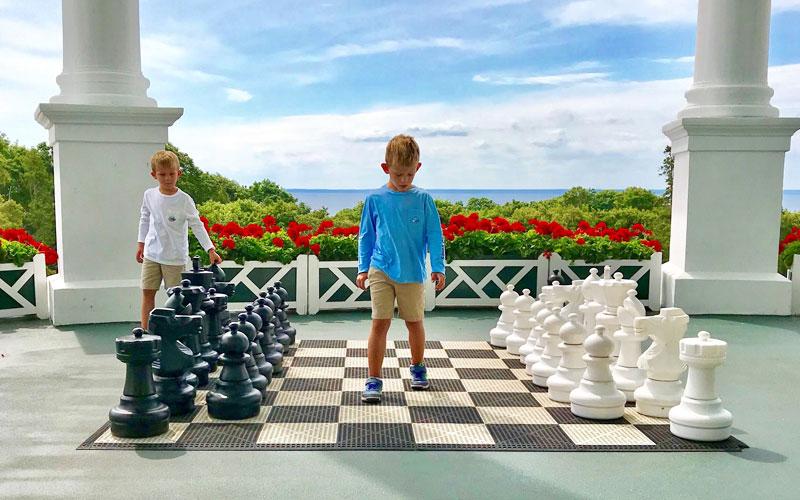 Chess Grand Hotel Mackinac Island Scripps