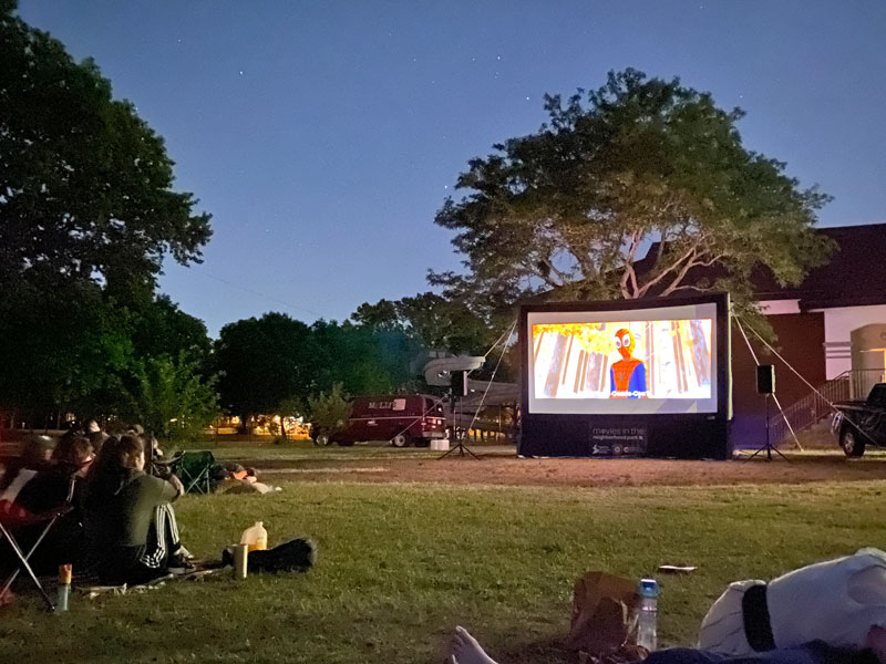 Grand rapids movies in the park MLK park Hunt spiderman