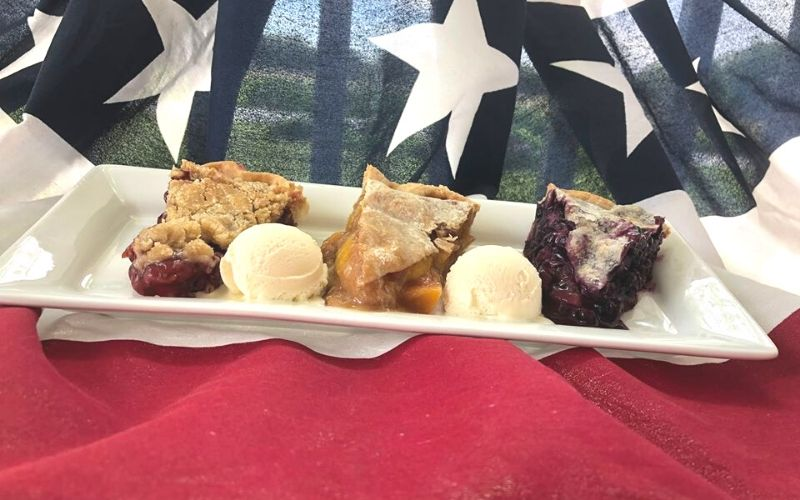 patriotic pie party